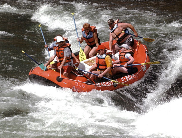 White Water Rafting on Maupin River