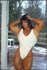 body building extreme women